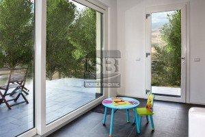 Scorrevole alzante e portoncino vetrato a Palermo
